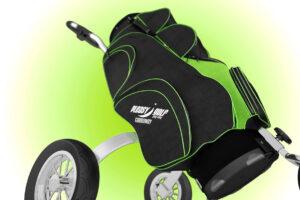 Pleasy Golf Golfbag green 1
