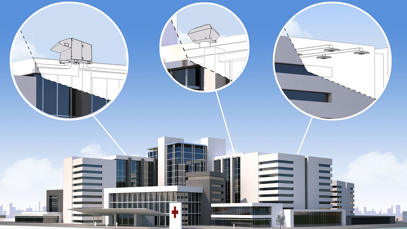 Concept View Hospital