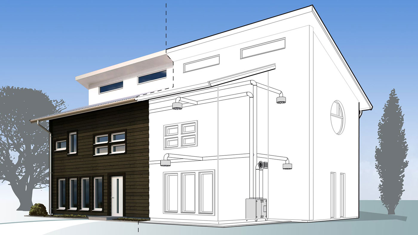 Concept View Private Residence