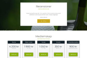 Norrby Golf front recensioner