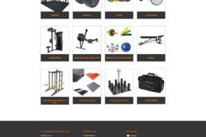 Spice Grafix Träningsutrustning Shop page