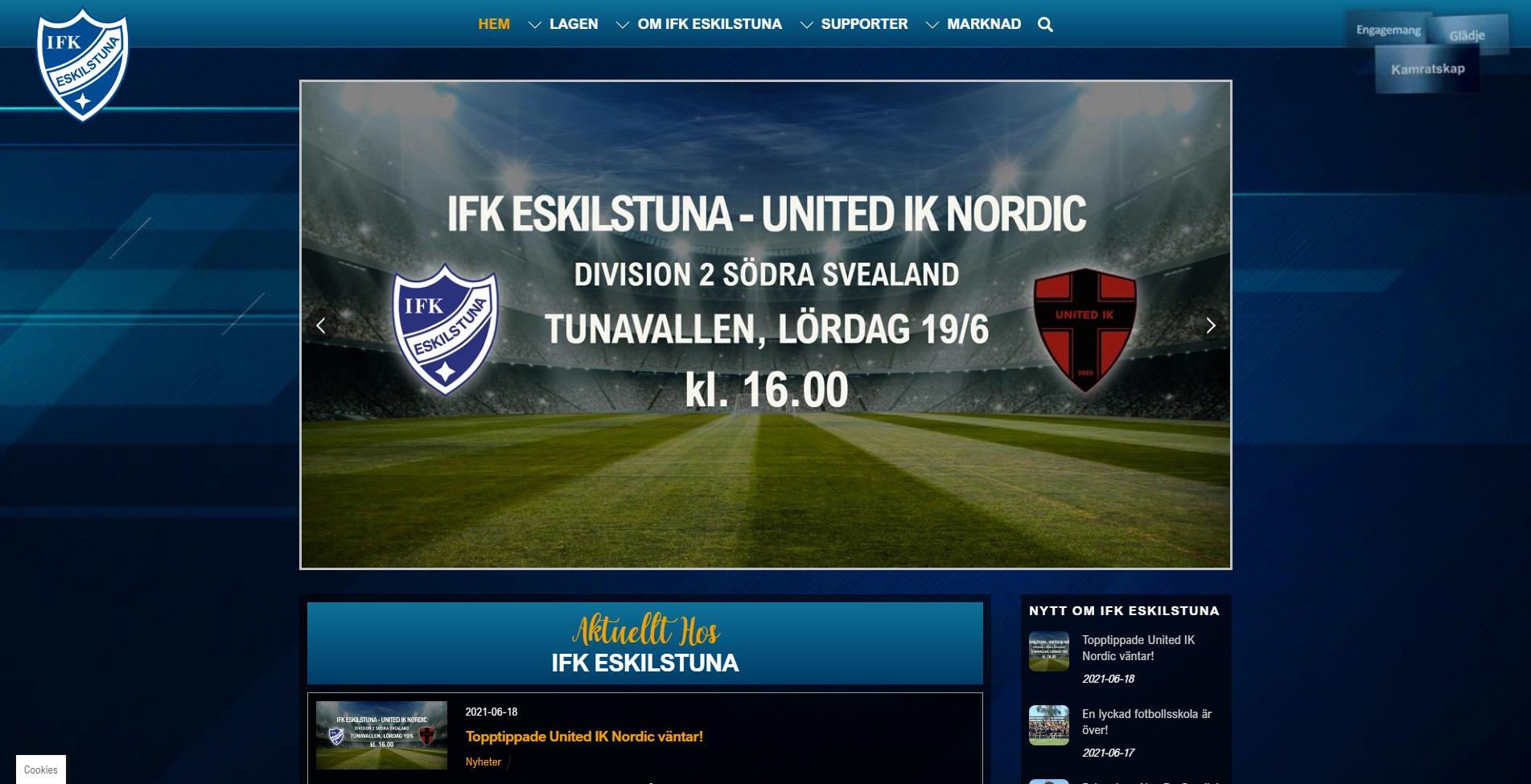 IFK-Eskilstuna-home
